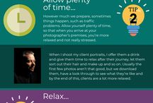 Infographics / Infographic tips to help you with your marketing materials, design, photography, film and video