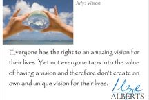 Vision / You need a clear vision for your llife