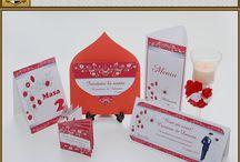 Set Nunta Iubire / Marturii, invitatii, plicuri de bani, meniuri, numere de masa asortate in teme variate.