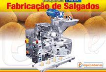 Máquina Para doces e Salgados / Equipamentos para produção de coxinhas e salgados.