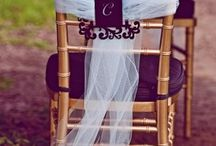 Couvre Chaise Mariage.. / by Caroline Raymond