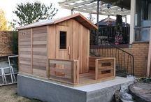 Log Sauna Cabins / Pictures of Ukko Log Sauna Cabins