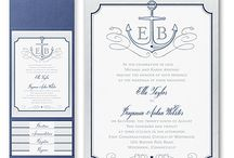 Nautical Invitations / Let your love sail with these adorable nautical designs from Persnickety's Carlson Craft collection.