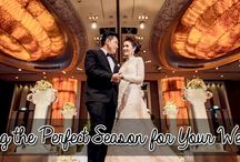 Picking the Perfect Season for Your Wedding / In this guide we will help you look over each season, give a little inspiration and hopefully, help make the process of picking a date a little easier.  http://www.kimberleyandkev.com/picking-the-perfect-season-for-your-wedding/