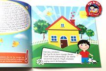 Ege ile Ece Kitapları / 10 Seriden oluşan Ege ile Ece Kitapları