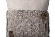 Eva+Lois - Knit Factory / Cosy Bag + Pillow by Knit Factory - Soft furniture - Luxury living