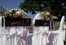 Hochzeit am Wörthersee Schilder bei uns zu mieten www.help-org.at / Traumhochzeit im Schloss Maria Loretto Klagenfurt mit Stuhlhusse Universell,Teppich rot von Help organisation Velden