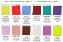 2018 colors&trends