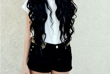 black hair / Hair