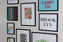 gallery wall ideas / by Jennifer Arnold