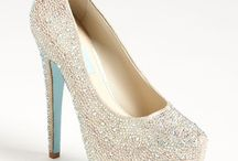 Wedding shoes/Clutches