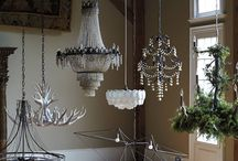 Chandeliers & jewelry boxes / by Rae Nell Marlowe