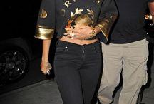 Riri and Beyonce