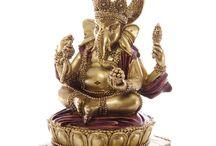 Ganesh Statue Meditation