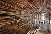architecture and wood