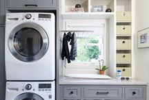 Laundry space / by Grace Martin