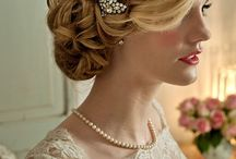 bridal hairstyles - wedding hair design / Hairstyles for brides, weddings and formal events