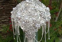 Jewelry Wedding Bouquet