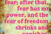 Great sayings / Philosophies on life