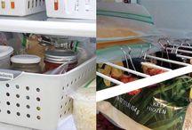Οργάνωση ψυγείου / Έξυπνα κόλπα για να είναι το ψυγείο σας πάντα καθαρό και οργανωμένο!