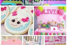 Birthday Party Ideas For Girls! / Ideas From Princess Parties to Rainbows to Tea Time Ideas for Any Special Little Girl! And DIY Crafts, Cookies and Cakes!