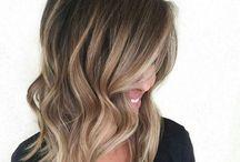 Frisyrer / Blond/brunette