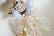 Μπομπονιέρες με δαντέλα / Μπομπονιέρες γάμου - βάπτισης, ξεχωριστές, ιδιαίτερες δημιουργίες, όλες χειροποίητες φτιαγμένες με αγάπη και Με Μεράκι... Μπομπονιέρες γάμου με δαντέλα. Handmade wedding mpomponieres. Μπομπονιέρες με τιμές στην ιστοσελίδα www.me-meraki.gr