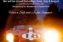 Summer of 2014 Carriage House Motor Cars / CHMC will be closed Saturday and Sunday June, July & August. Reopening for weekends in September....Have a great summer.