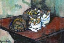 animals in art / figurative paintings depicting animals /and humans