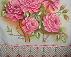 Pintura Textil / artes decorativas y aplicadas. Pigmentos y resinas acrílicas sobre tela. / by Laura Ayala