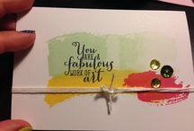 Project Life - Handmade Card Ideas