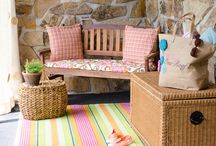beach bungalow's decor
