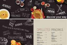 Graphics RECIPE // MENU CARD