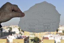 Postales de Andalucía a lo Ben Haine / Tareas colaborativa al estilo Ben Haine