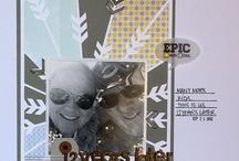 favourite Scrapbook layouts & card ideas / by Tamara Acheson Blagonic