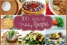 Holiday recipes - allergy free