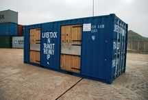 shipping container stable