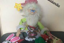 Mi blog: Goma eva navideña / Trabajos de mi blog en goma eva. Temática navideña.