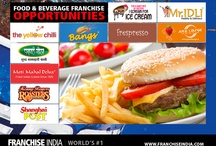 Food & Beverage Franchises / Here's yummy & affordable #food & #beverage franchise opportunities for you to explore..:)