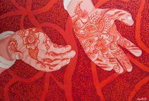 Jayanthi Moorthy / Artist: painting, mixed media: www.reartiste.com/jayanthi-moorthy/