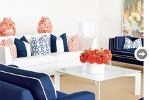 Modern beach style / Home decor styling & ideas