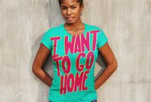 Girls' T-Shirts / Curated womenswear range from Eptitude Apparel. Bright, eye-catching, hand-illustrated typography on fine apparel. Hilarious, unique, and snarky.