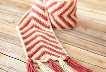CROCHET: Scarves, Cowls, Etc. / YARN CRAFTS: Crochet- Scarves, Cowls, Etc. / by Lady Katie