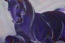 Painting Olga Akkel