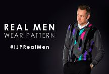 Real Men Wear Pattern / It's that time of year to get out your Christmas inspired sweaters. Our brightly patterned sweaters will get you in the festive spirit and have you looking great too!.