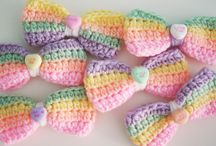 Crochet-Bows and Hair things / by JenevaGriffin AStitchAboveTheRest