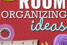 craft room and organization