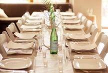Idea of Table Setting