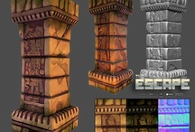 Game Props & Textures / Reference material for drawing, game design, inspiration, etc.