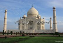 Uttar Pradesh of India: Agra / Taj Mahal, the renowned landmark and face of India, is located in Agra city in the state of Uttar Pradesh. Apart from Taj Mahal, Agra Fort is another amazing site to visit in the city. Both sites provide an incredible and grand experience for visitors to see the rich Mughal history, heritage and culture of India. Click on any of the pins to read the full posts.